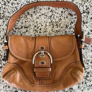 Tan/Carmel color Coach handbag